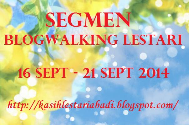 Senarai Segmen Blogwalking Lestari