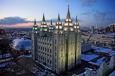 salt lake city temple pictures