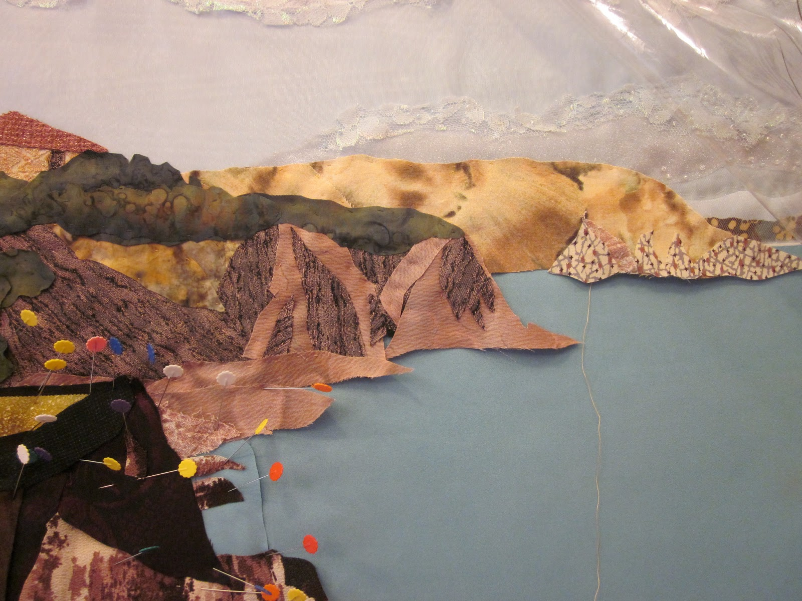 Alyen Creations Landscape Art Quilts