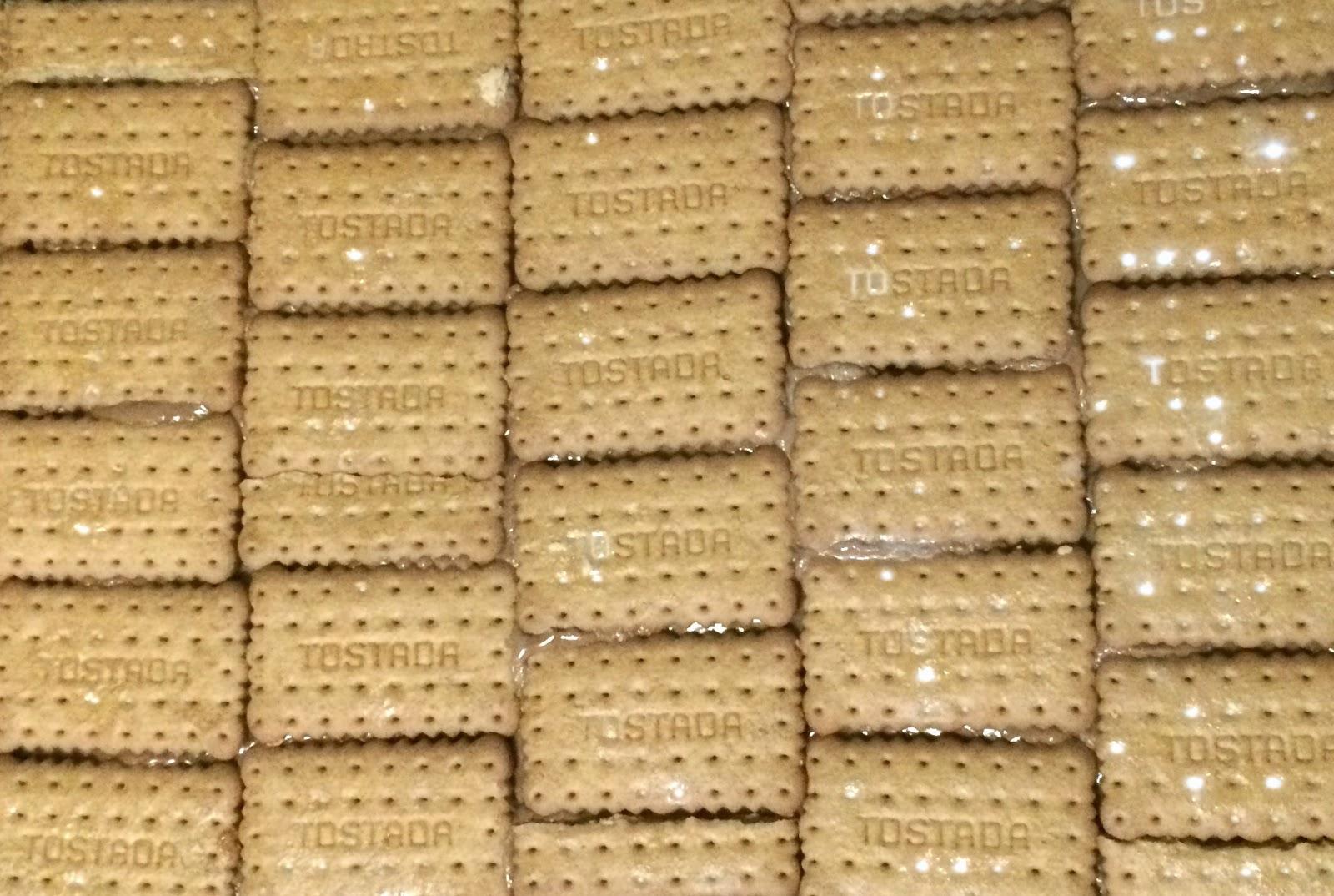 Tarta de chocolate con galleta