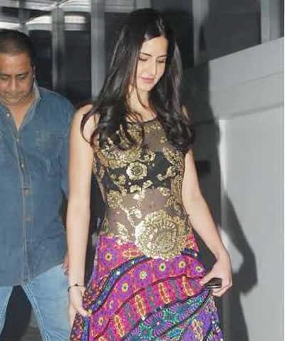 Katrina At Salman Khan's Family Bash Pics