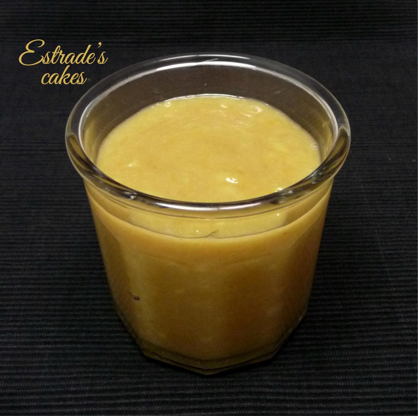receta de crema plátano y chocolate blanco - 1