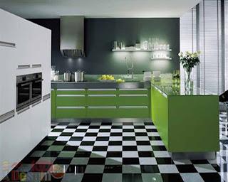 Desain Dapur Rumah di Gading Serpong5