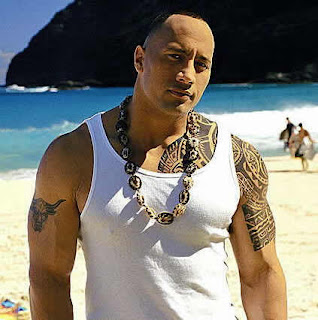 The Rock Tattoos - WWE Superstar Dwayne Johnson Tattoo Pictures