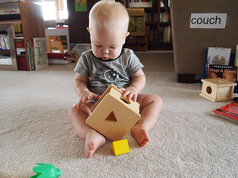 Toys For A 9 Month Old : Montessori toys and months old nathaniel early learning with