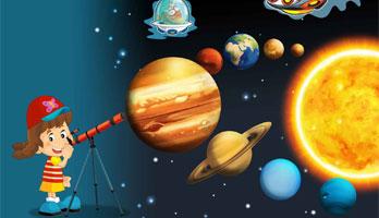 Astronomía para niñas y niños