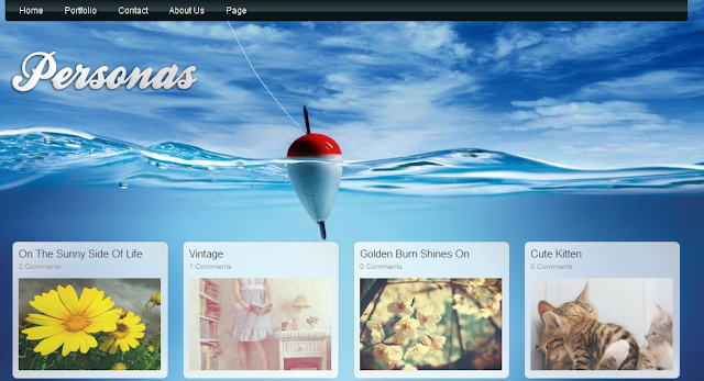Gallery Grid Blogger Template