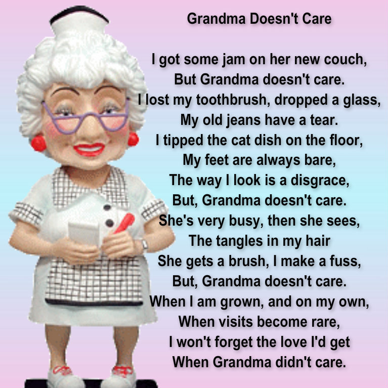 Grandma doesn 39 t care jewels art creation for What to get my grandma for her birthday