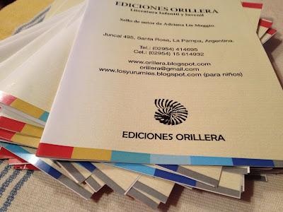 39 Feria del Libro en Bs As. Ediciones Orillera presente. Stand Nº 3020 – Pabellón Ocre. La Pampa.
