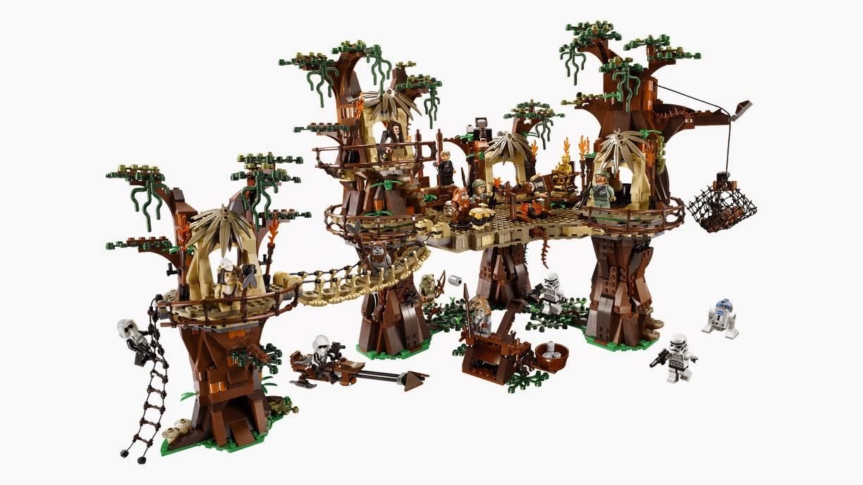 Đồ Chơi Lego Star Wars Ewok Village 10236