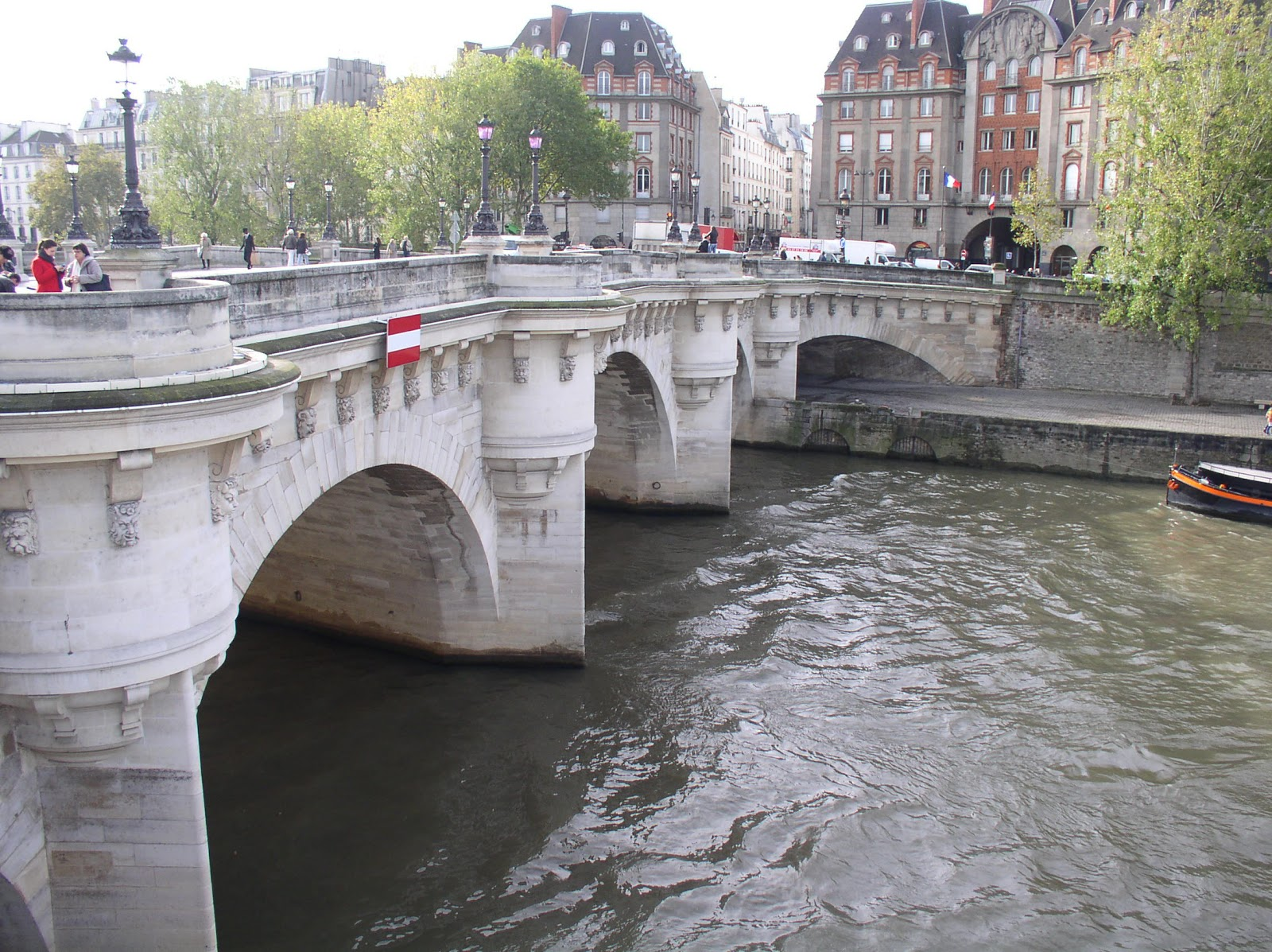 From Paris With Love  Pont Neuf And The Square Du Vert