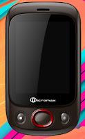 Slider Touchscreen Dual SIM Mobile Micromax X222