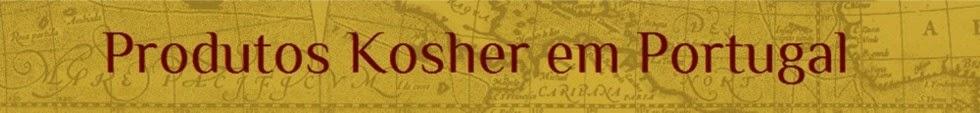 Produtos Kosher em Portugal