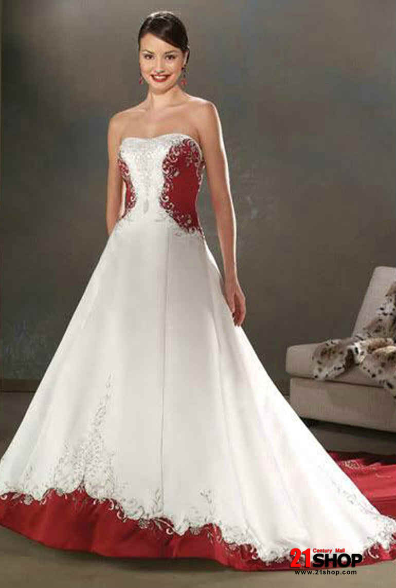 Latest fashion trends for men and women in pakistan red for Short red and white wedding dresses