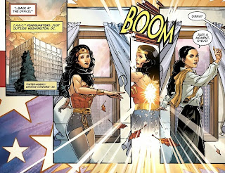 Page nine of Wonder Woman '77 #1 from DC Comics