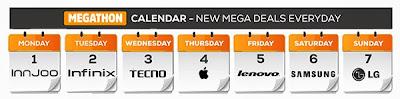 jumia-mobile-week-megathon-calender