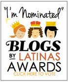 Blogs by latinas Awards nominada!