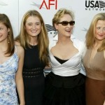 meryl streep with daughters