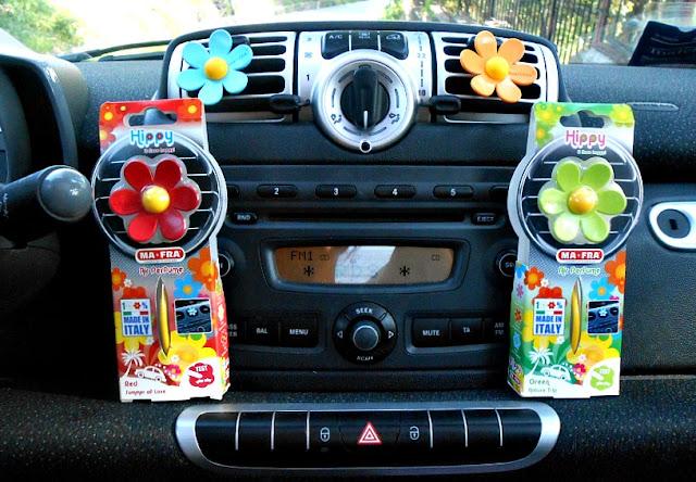 hippy: la margherita che profuma la mia auto
