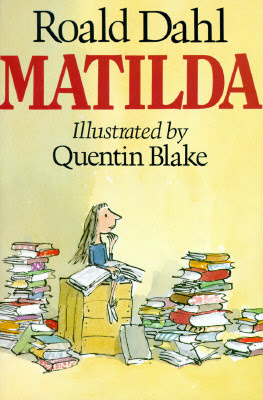 cover of Matilda by Roald Dahl