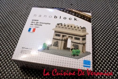 La Cuisine De Veronica Nanoblock Arc de Triomphe