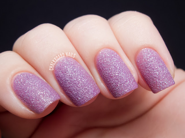 Chalkboard Nails: Zoya Stevie (PixieDust textured shade)