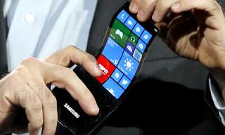 Samsung Mempersiapkan Smartphone Melengkung