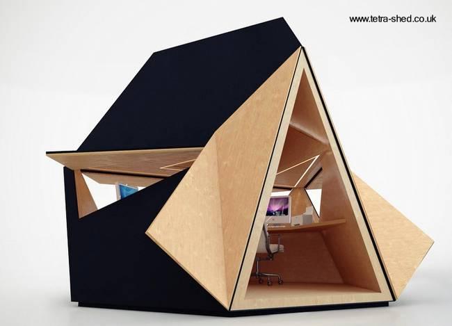 Arquitectura de casas casetas de jard n sirven como oficinas for Casetas de jardin modernas