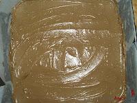Tarta Ópera-otra capa de crema de mantequilla