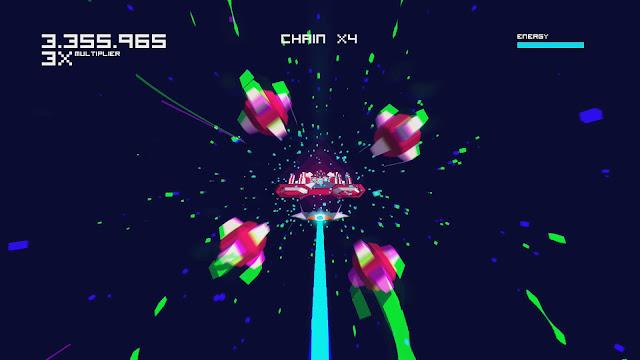 Futuridum EP Deluxe quiere ser un Uridium 3D psicodélico y desafiante