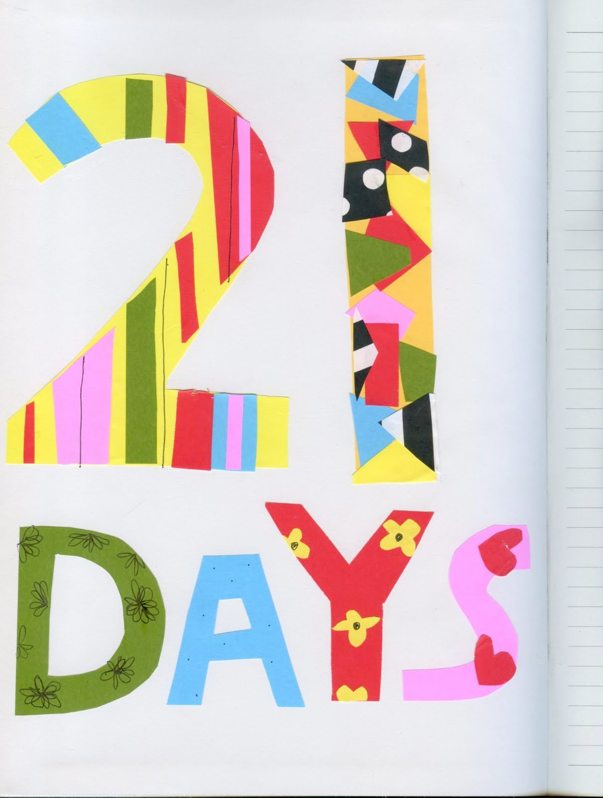 how to change habits in 21 days