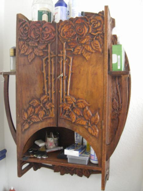 Tramp Art Mirror Love It Arts Pinterest Mirror - Art Nouveau Muebles ...