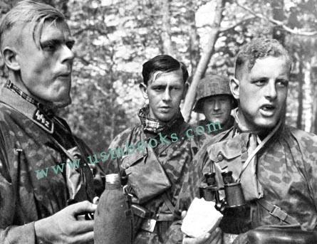 Le soldat allemand et sa coupe de cheveux