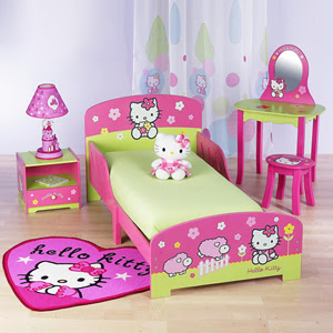 dormitorio temático de hello kitty