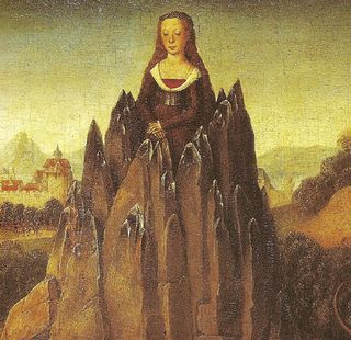 hans memling allegory of chastity