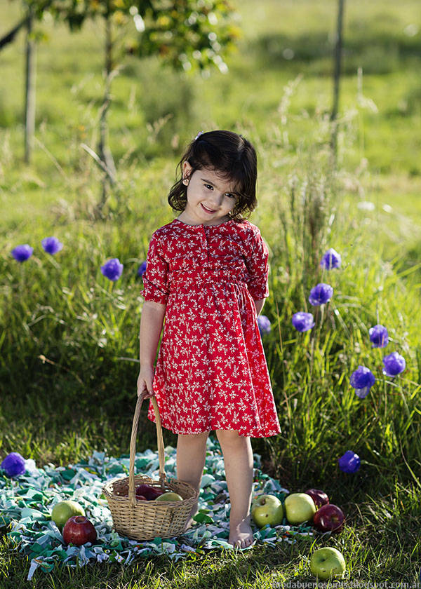 Vestidos para nenas primavera verano 2016 ChichíLelé.