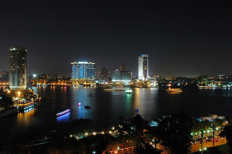 Cairo city that never sleeps