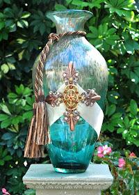 Raining Copper Vase
