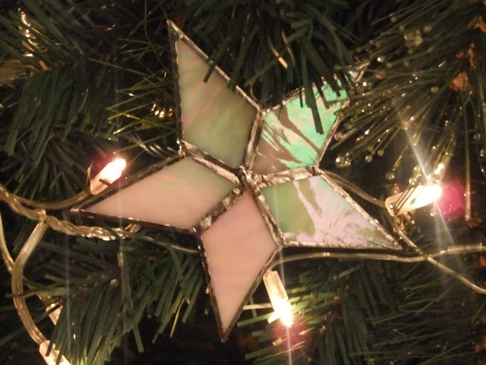 The Dotty One Christmas Decorations Part - Diy copper stars for christmas decor