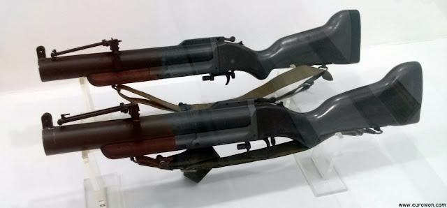 Lanzagranadas de Estados Unidos usados en la Guerra de Corea