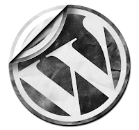 Peel Effect Wordpress Logo Icon