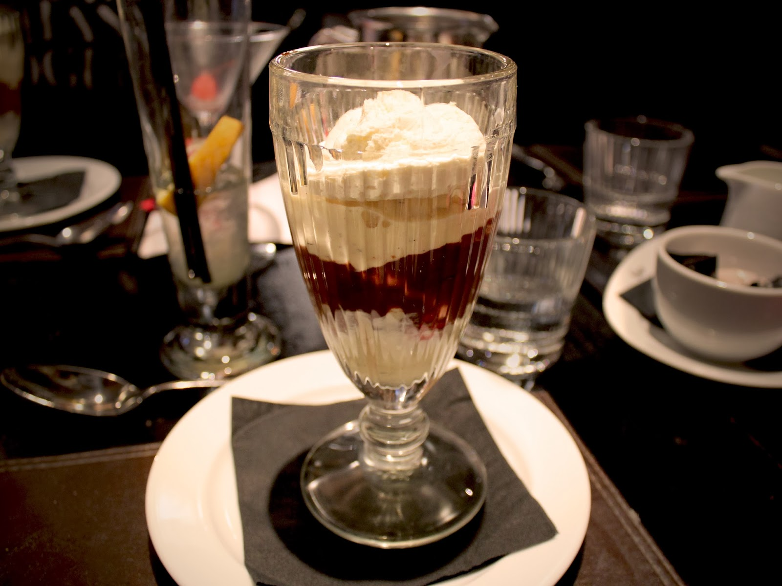 Ice Cream Sundae at the Malmaison Hotel in Birmingham