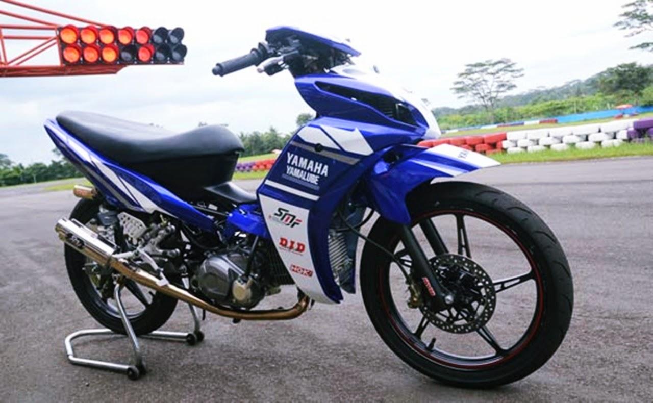 motor modifikasi road race terbaru