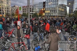 Critical Mass Hamburg, 27.09.2013