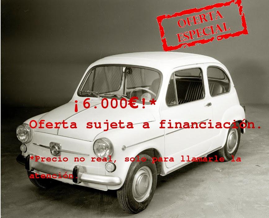 estafa precio coches seat 600 oferta