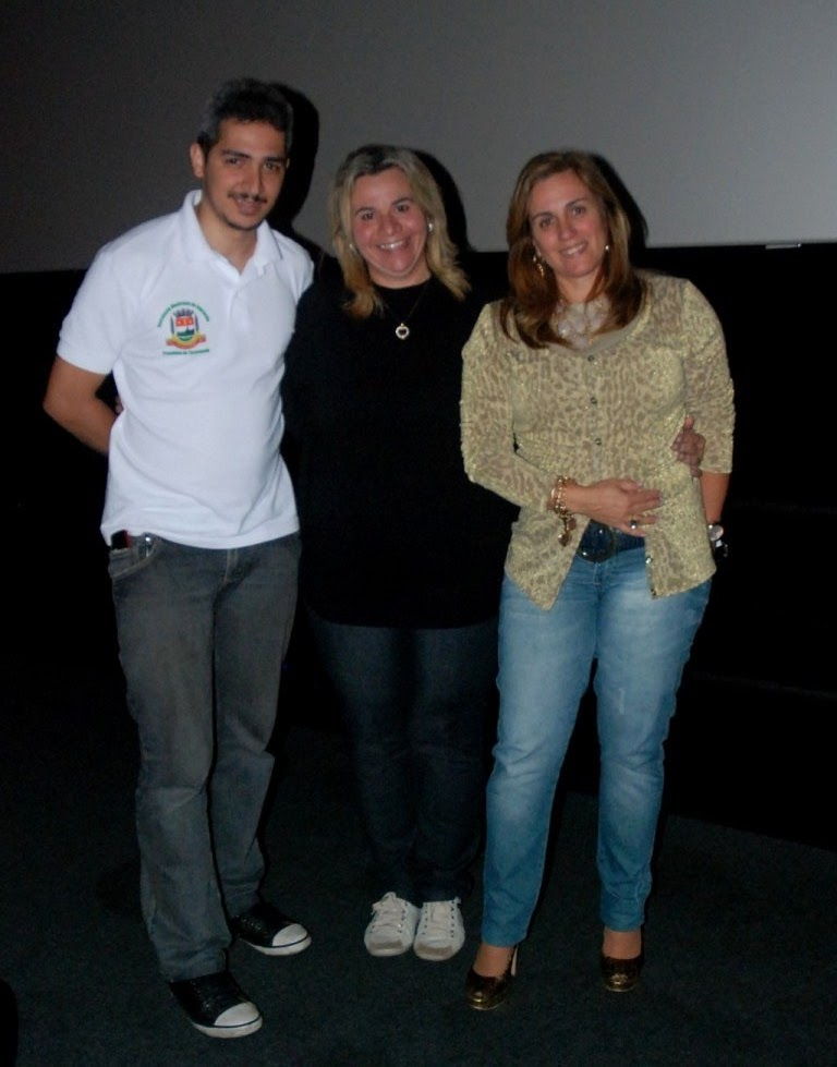 Equipe do Serviço de Tecnologias Educacionais: Anderson Mota, Ana Geanette Fahur e Bernadete Duarte