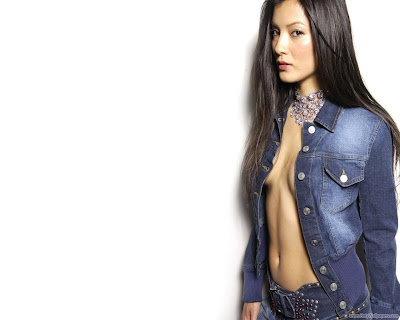 Kelly Hu Hollywood Glamorous Actress Wallpaper-1600x1200