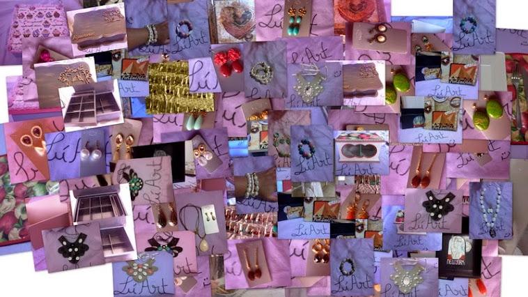 Brincos, Pulseira,Anéis, e chaveiros de bolsa