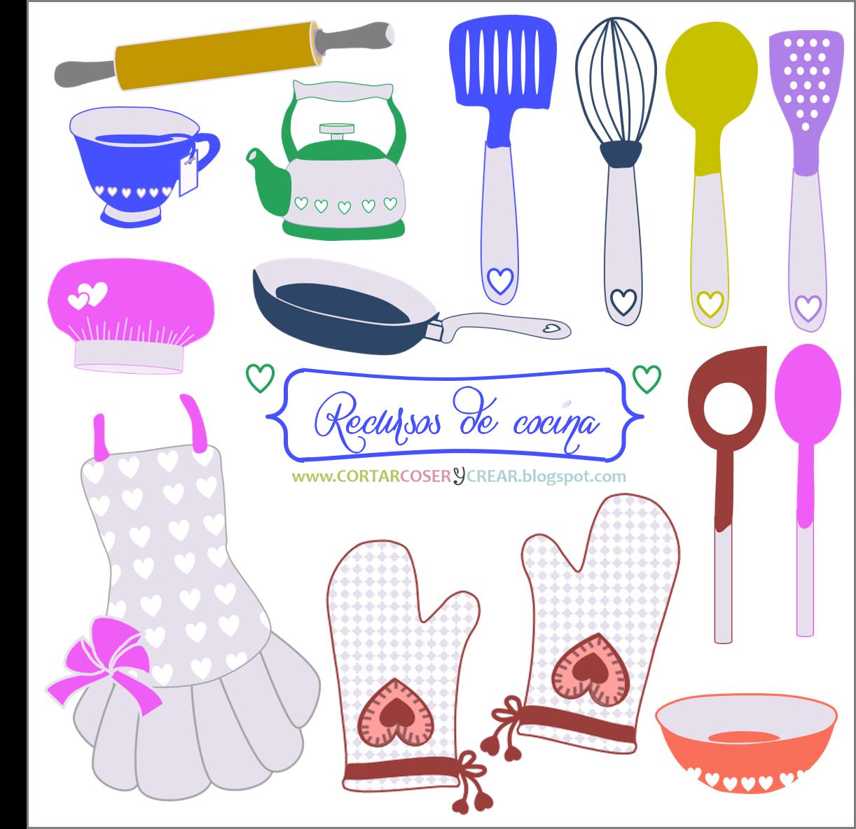 set recursos digitales gratuitos cocina
