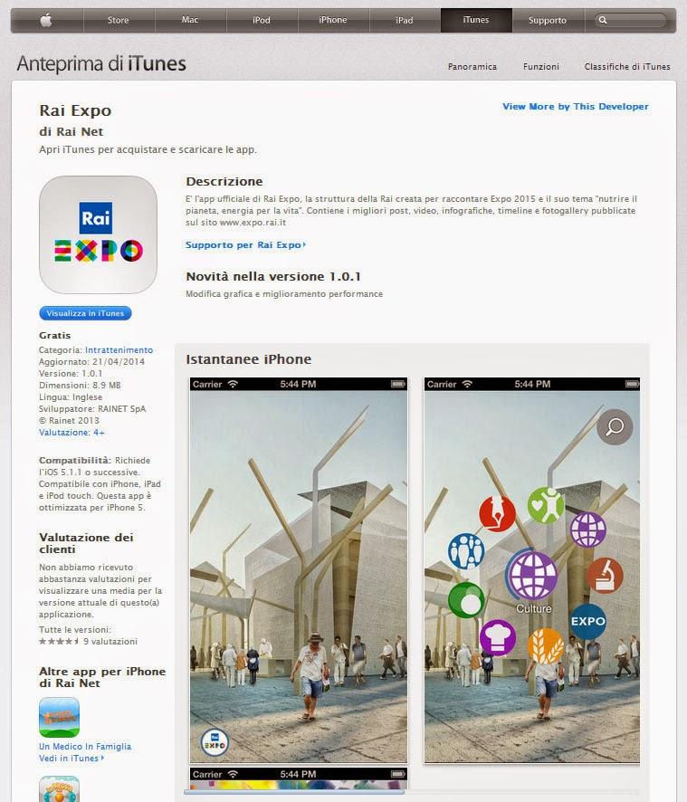 RAI Expo App